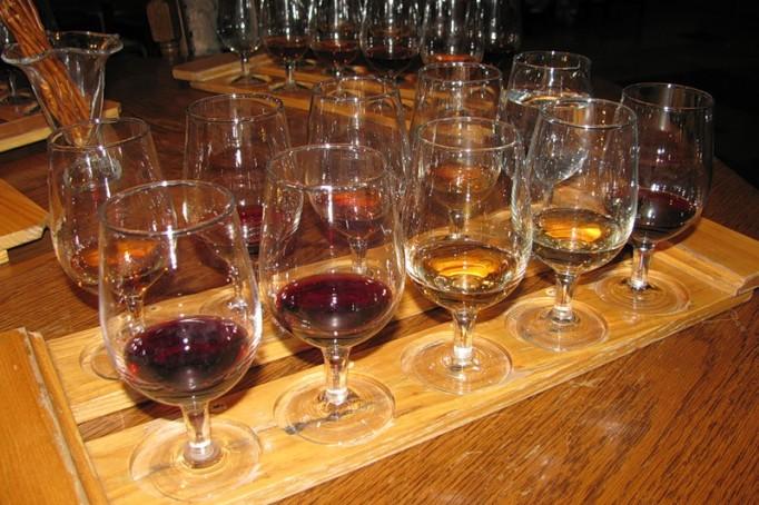 Wine-tasting in Massandra Winery