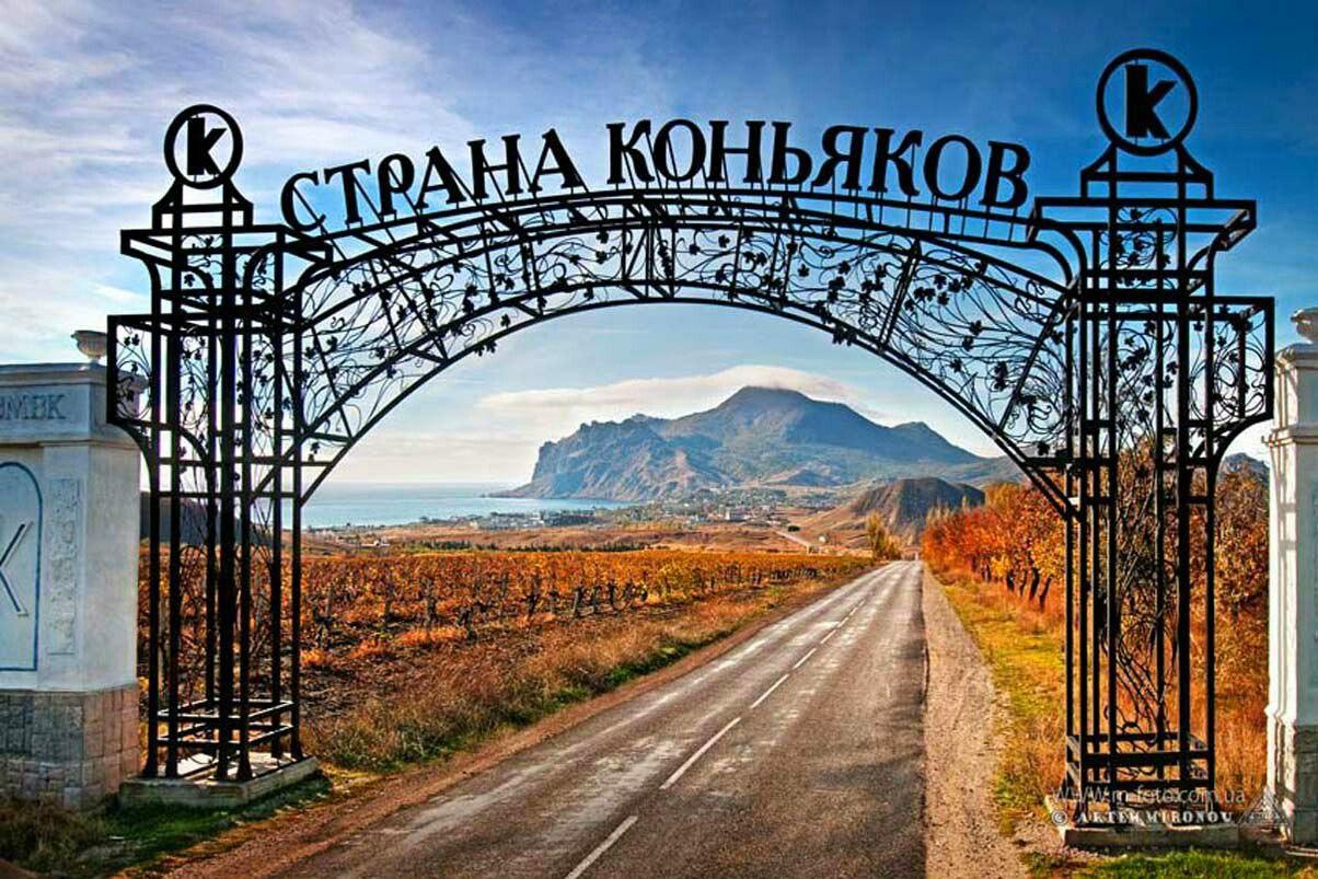 Винный тур в Крым