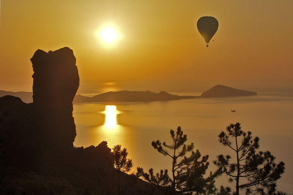 полет на шаре в Крыму